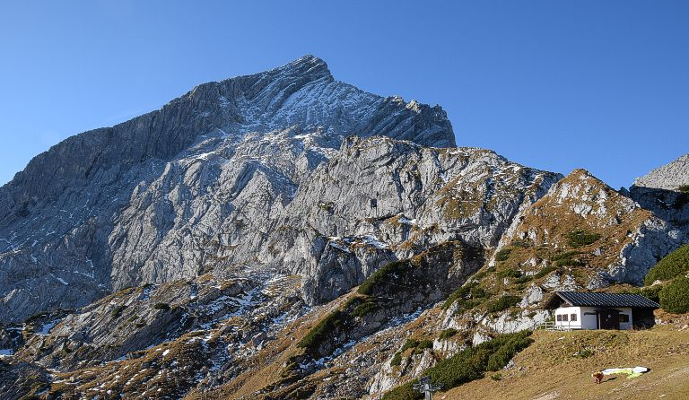 Klettersteig Alpspitze : Alpspitze m alpspitz ferrata nordwand klettersteig garmisch