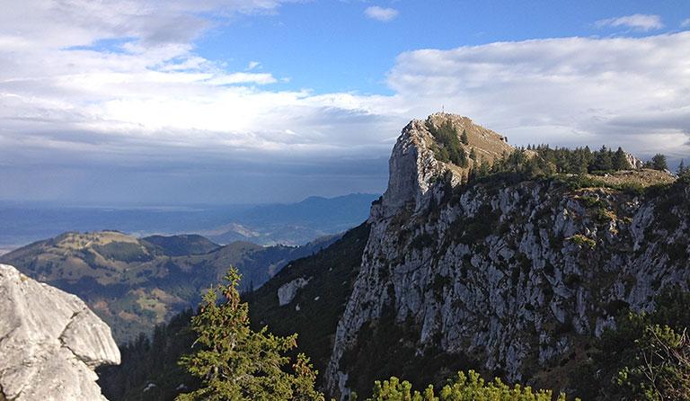 Kesselalm (1285 m), Mangfallgebirge, Deutschland