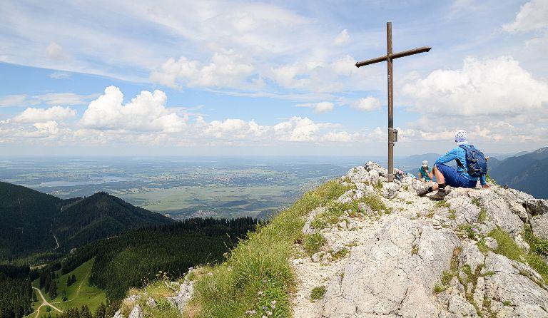 Klettersteig Am Ettaler Mandl : Ettaler manndl 1633 m ammergauer alpen ammergau deutschland