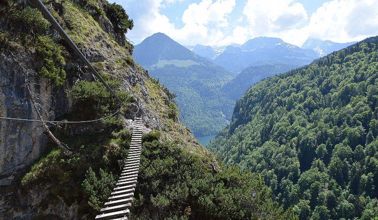 Klettersteigset Verleih Berchtesgaden : Kletterausrüstung verleih berchtesgaden alpenüberquerung vom