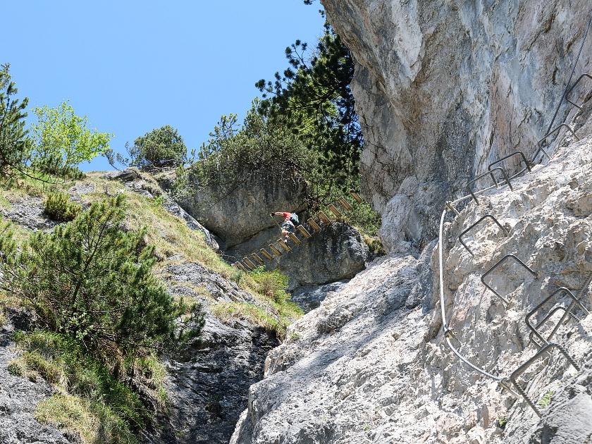 Klettersteig Jenner : Grünstein klettersteig