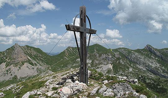 Klettersteig Achensee : Rosskopf 2246 m rofan tirol Österreich