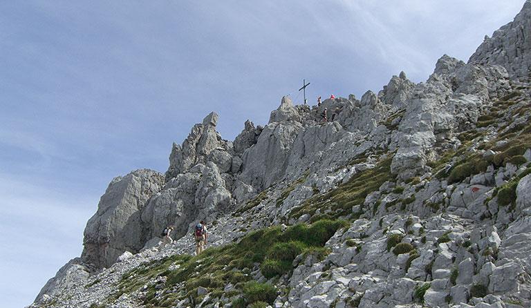 Klettersteig Ellmauer Halt : Klettersteige am wilden kasier rundwanderung ellmauer halt