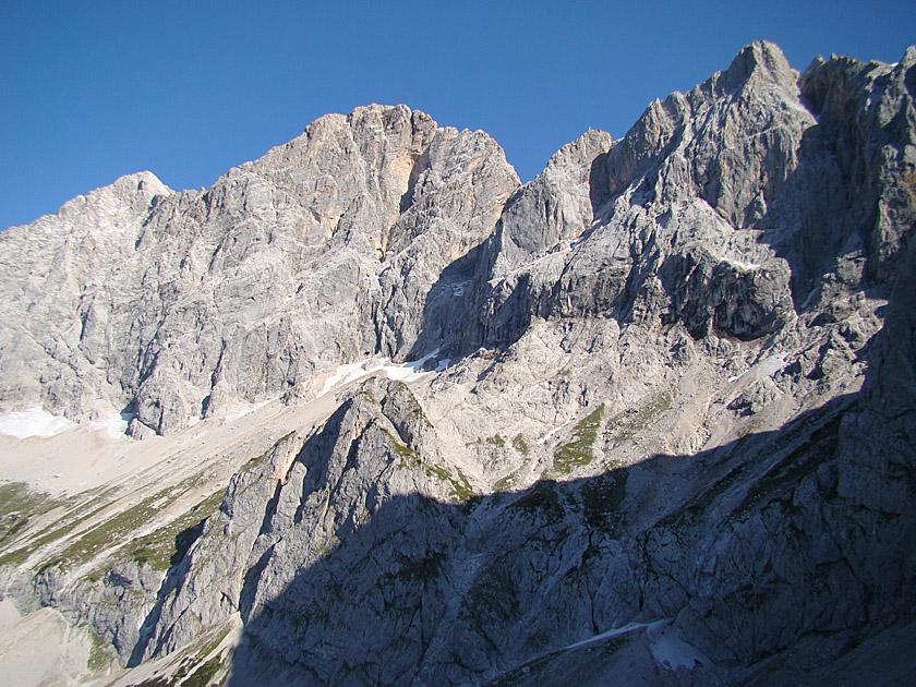 Klettersteig Johann Dachstein : Johann klettersteig