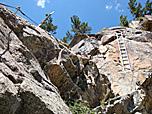 Klettersteig La Resgia : La resgia klettersteig pontresina engadin