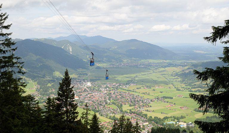 Klettersteig Oberammergau : Laber m über die schartenköpfe von oberammergau