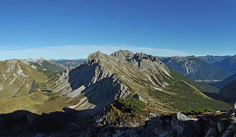 Klettersteig Tannheimer Tal : Lachenspitze über klettersteig nordwand allgäuer