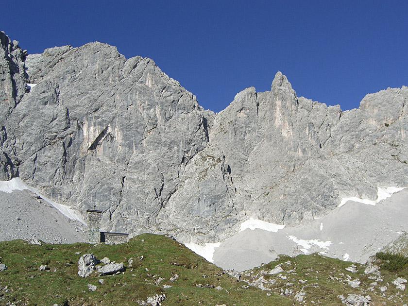 Klettersteig Lamsenspitze : Lamsenspitze m