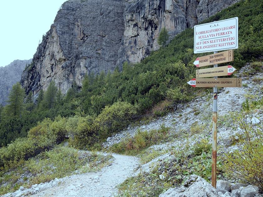 Klettersteig Pisciadu : Fotos und bilder zum pisciadù klettersteig cima