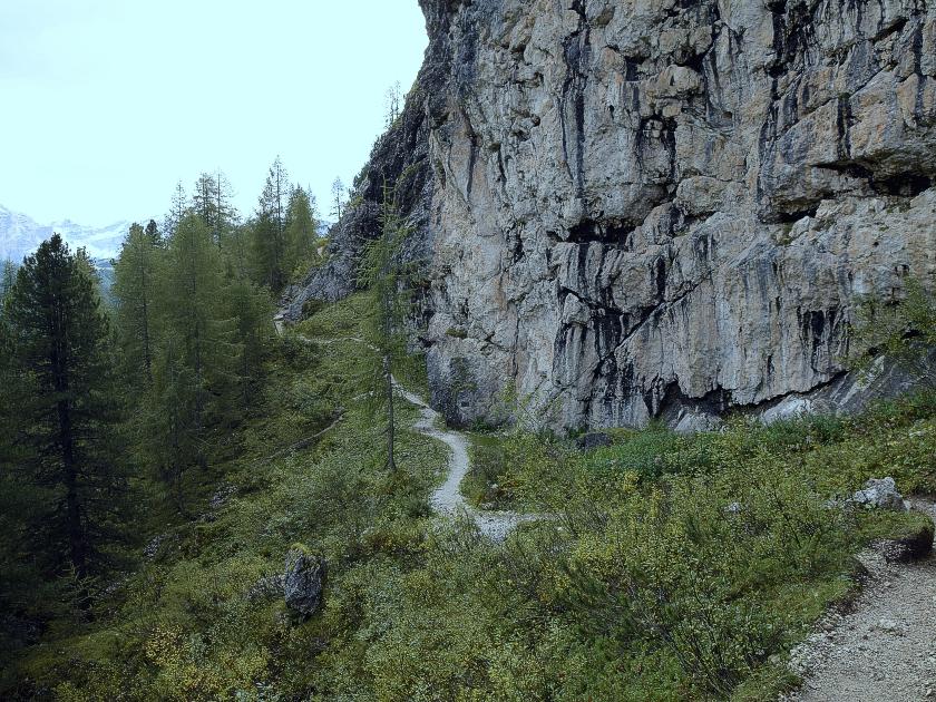 Klettersteig Pisciadu : Der pisciadu klettersteig