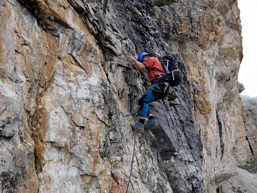 Klettersteig Piz Boe : Piz boe