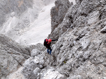 Klettersteig Plattkofel : Oskar schuster klettersteig auf den plattkofel