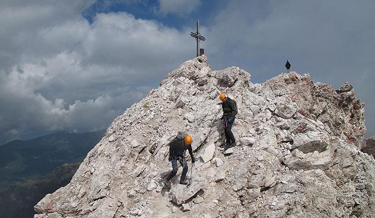 Klettersteig Johann Topo : Sass rigais 3025 m bzw. sas dolomiten südtirol