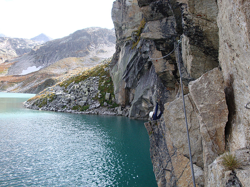 Klettersteig Seewand : Seewand