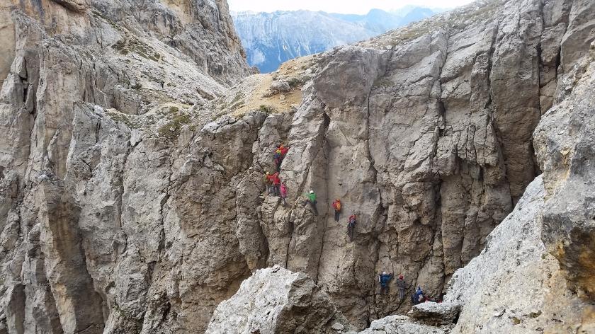 Klettersteig Rotwand : Klettersteig masare rotwand alpenverein südtirol bozen