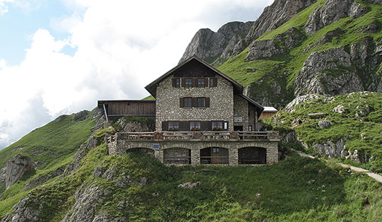 Bad Kissinger Hütte (1788 m)