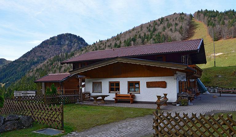 Klettersteig Walchsee : Ottenalm m walchsee chiemgauer alpen