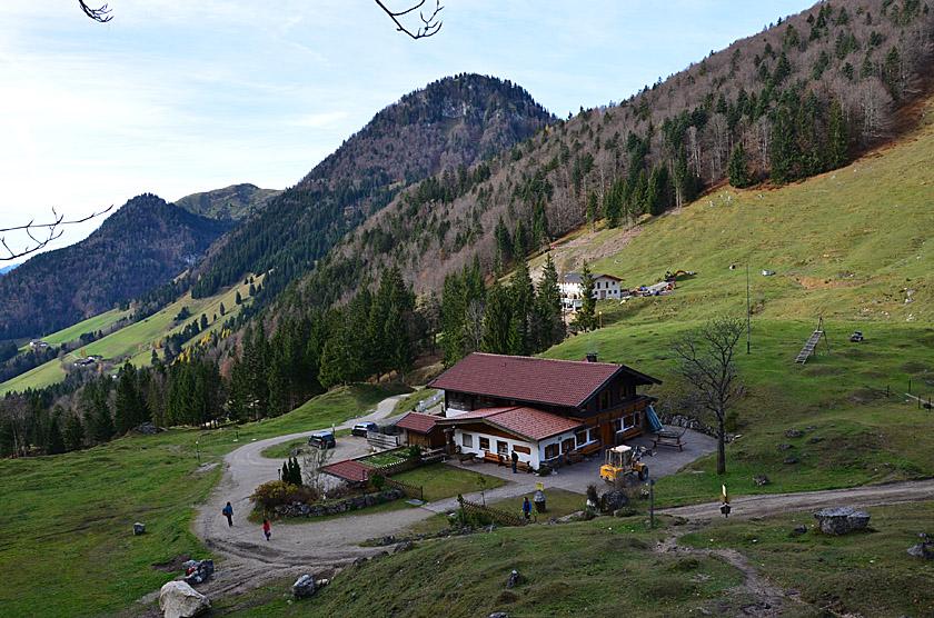 Klettersteig Ottenalm : Ottenalm m walchsee chiemgauer alpen