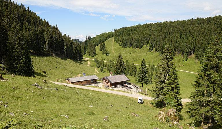 Klettersteig Oberammergau : Soila alm m bei oberammergau am laber