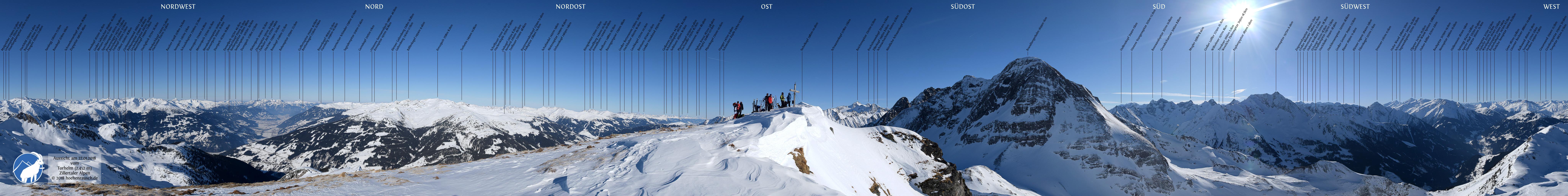 Panoramabilder Alpen