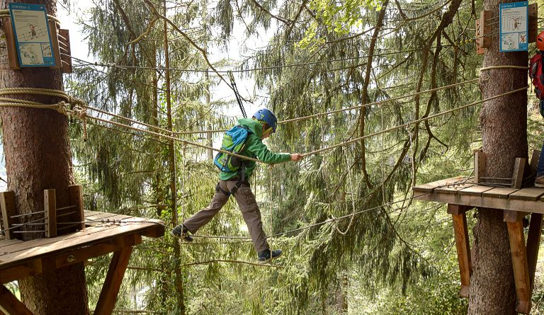 Klettersteig Huterlaner : Kindergerechter klettersteig mayrhofen zillertal